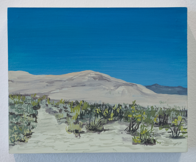 , 'Sand dunes on the way to Joshua Tree,' 2016, Fort Worth Contemporary Arts