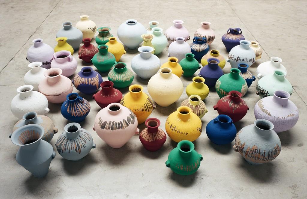 Ai Weiwei Coloured Vases 2006 Artsy