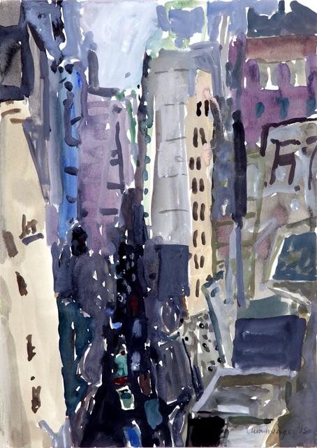 Elisabeth Cummings, 'From Michael' Top Terrace last light', 2015, Nockart Gallery