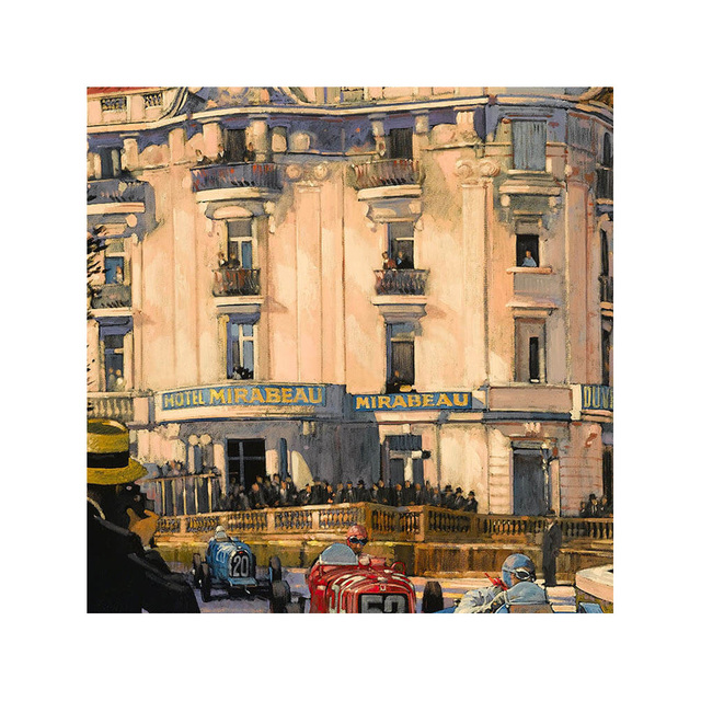 Barry Rowe, 'Hotel Mirabeau | Monaco Grand Prix | Automotive | Car', 2010, Whyte Fine Art