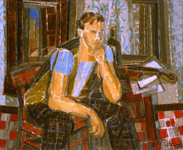 , 'Chico Pensativo,' 2015, Albemarle Gallery | Pontone Gallery