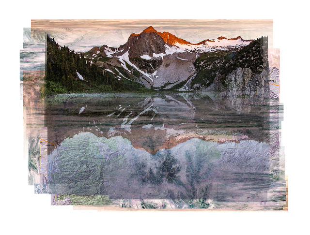 , 'Snowmass Lake,' , Walker Fine Art