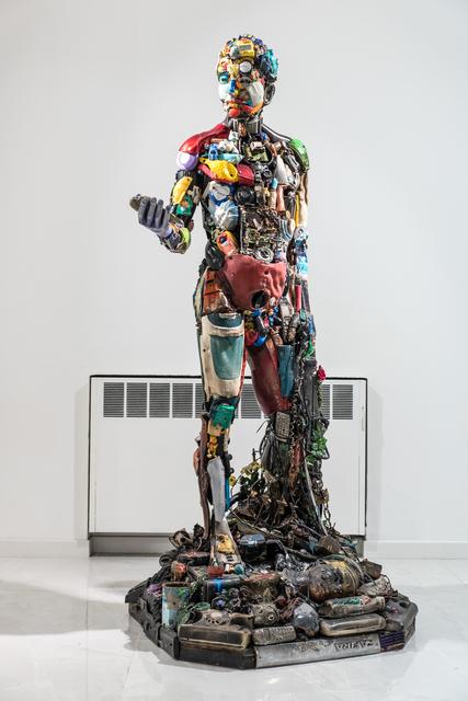 , 'Man in the plastic era,' 2015, SimonBart Gallery