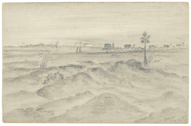 , 'UNTITLED (Landscape with path),' 1934, Prinseps