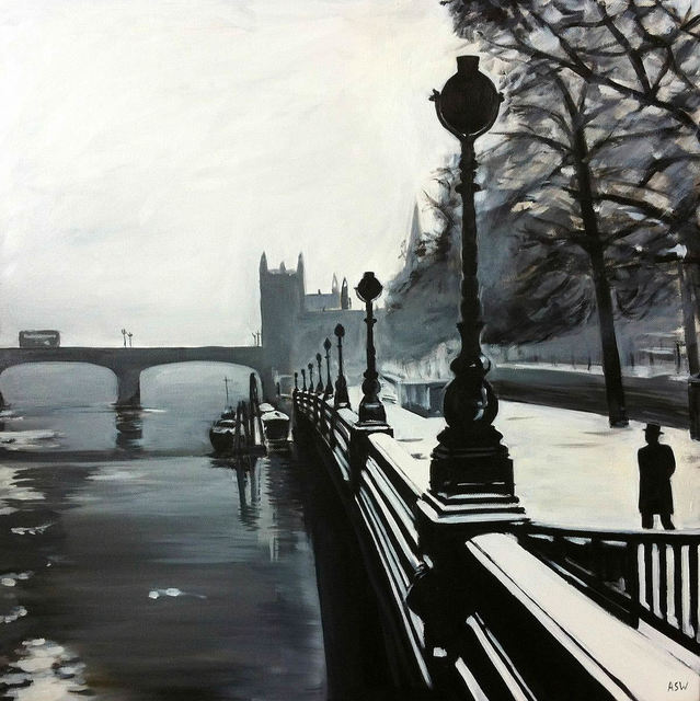 Angela Wakefield, 'Victoria Embankment, Westminster, City of London', ca. 2011, Ascot Studios