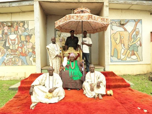 , 'HRM Oba Jimoh Oyetunji Olanipekun Larooye II, Ataoja of Osogboland ,' 2012, Newark Museum