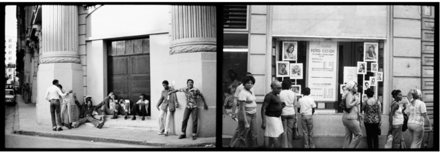 , 'Street scene, from the Cuba series,' 1981, Galleria Raffaella Cortese