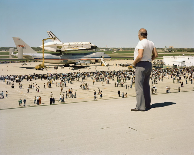 , 'The Space Shuttle Columbia Lands at Kelly Lackland Air Force Base, March 1979,' 1979, Gagosian