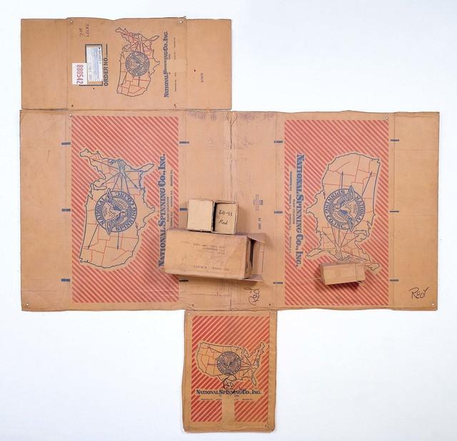 Robert Rauschenberg, 'National Spinning / Red / Spring (Cardboard)', 1971, Cardboard and string, Robert Rauschenberg Foundation