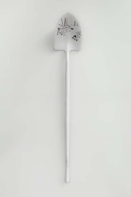 , 'WHITE SHOVEL,' 1978, Greg Kucera Gallery
