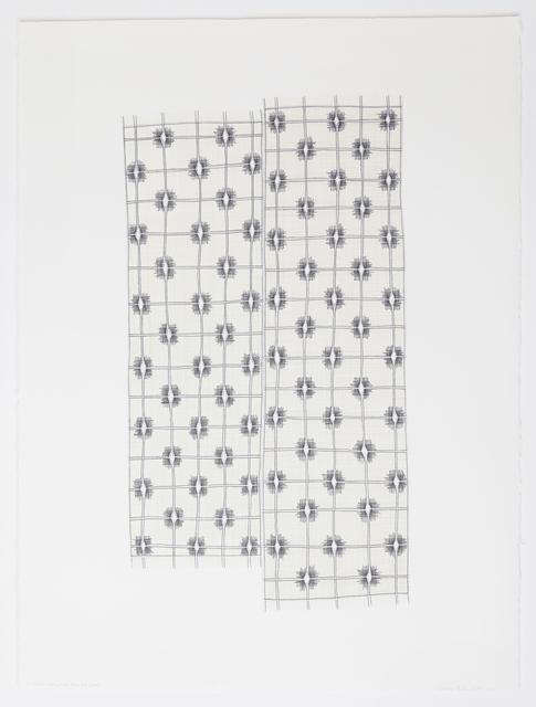 , 'Double Ikat,' 2016, Reynolds Gallery