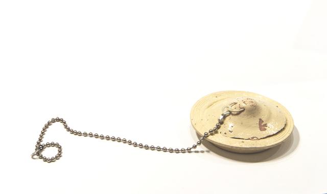 Agathe Snow, 'Suck-Hole', 2016, Sculpture, Rubber plug, rubber cast breast, enamel, aluminum chain, Postmasters Gallery