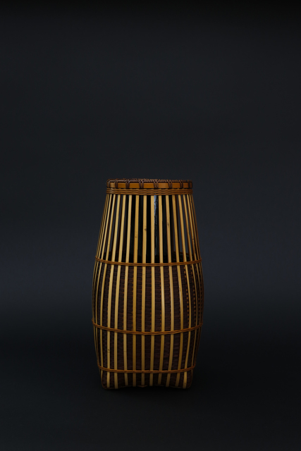 , 'Kushime ( the teeth of a comb ) pattern bamboo flower basket,' 2017, Ippodo Gallery