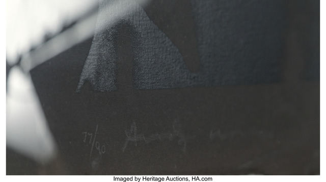 Andy Warhol, 'Joseph Beuys', 1980, Print, The complete portfolio of three screenprints on Arches Cover Black paper;, Heritage Auctions
