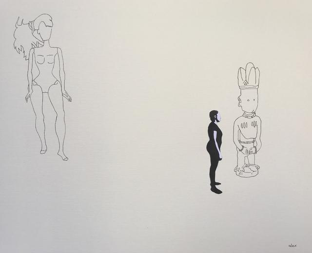 , 'Untitled with Yoruba Figure,' 2017, Circle Art Agency