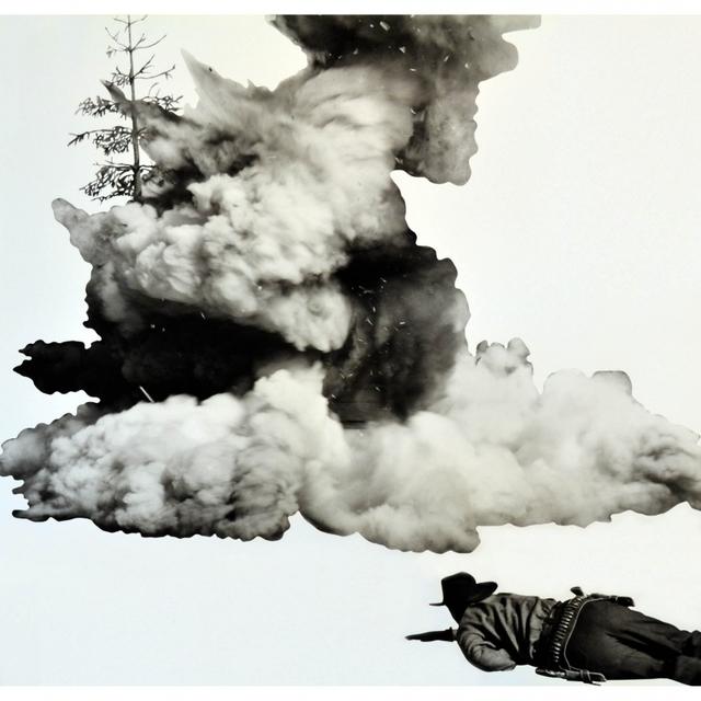 , 'Smoke, Tree, Shadow and Person,' 2011, Artsnap