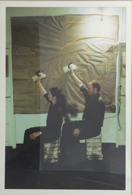 KwieKulik, 'Hammer-Sickle; Art in Panties', 1985, ZAK BRANICKA
