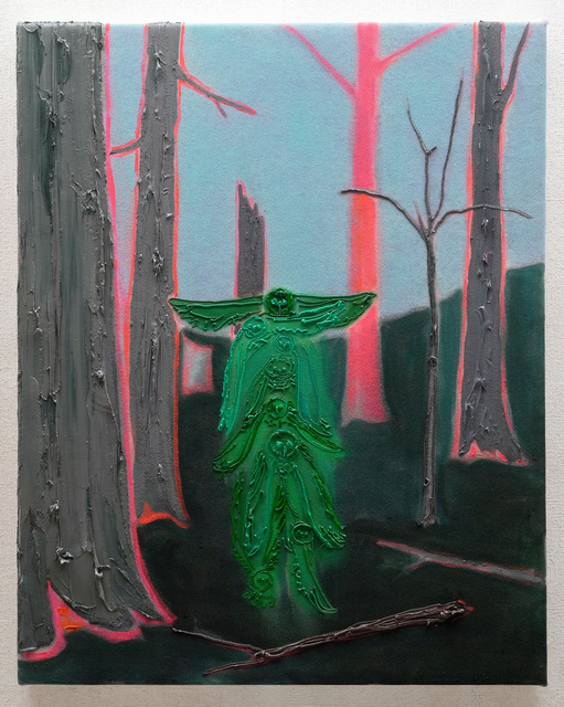 Kim Dorland, 'Sentinel', 2019, Galerie Antoine Ertaskiran