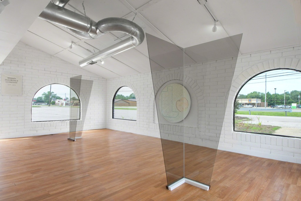 Eric Wesley / St. Louis, Phase 2, 2016 Bortolami, Cahokia, Installation view
