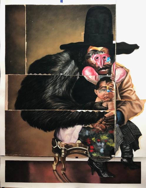 , 'Big Rabbit, Little Rabbit,' 2017, Rhona Hoffman Gallery