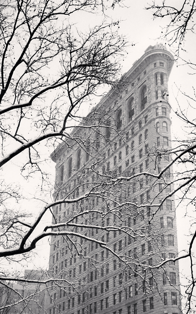 Michael Kenna, 'Flatiron Building, Study 2, New York, NY', 2003, PDNB Gallery