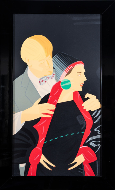 Alex Katz, 'Red Grooms and Elizabeth Ross', 1993-94, Evelyn Aimis Fine Art