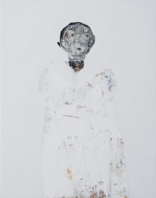 Marianne Kolb, 'The White Paintings No. 3', 2018, Painting, Mixed media on panel, Seager Gray Gallery