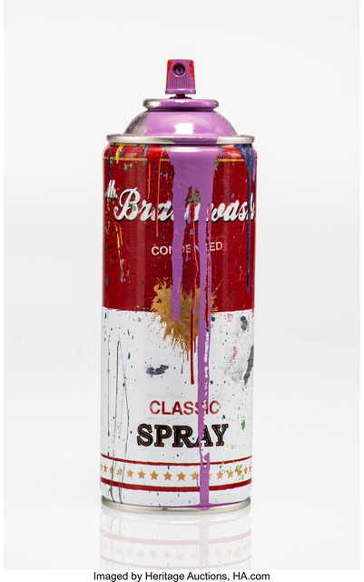 Mr. Brainwash, 'Spray Can (Purple)', 2013, Heritage Auctions