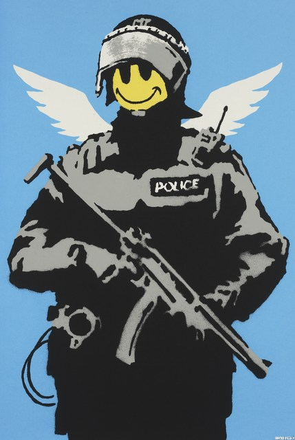 Banksy, 'Flying Copper', Tanya Baxter Contemporary