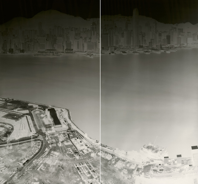 , 'To See Hong Kong Island from Kowloon 18-21 July 2015 (diyptych),' 2015, 10 Chancery Lane Gallery