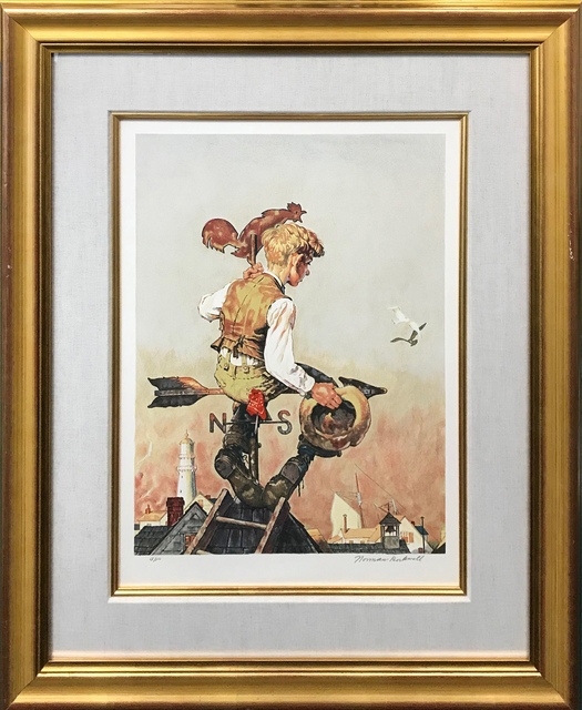 Norman Rockwell, 'UNDER SAIL', 1981, Gallery Art
