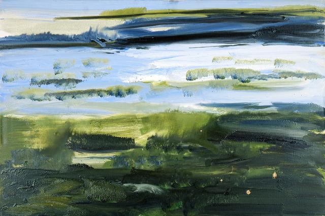 , 'Watt hinterm Deich (Mudflats behind the dike), Sylt ,' 2013, Galerie Herold