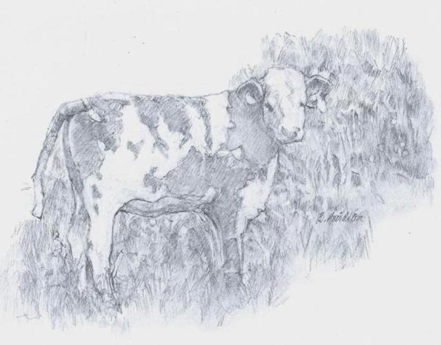 , 'Hannah's Cow,' 2019, The Galleries at Salmagundi