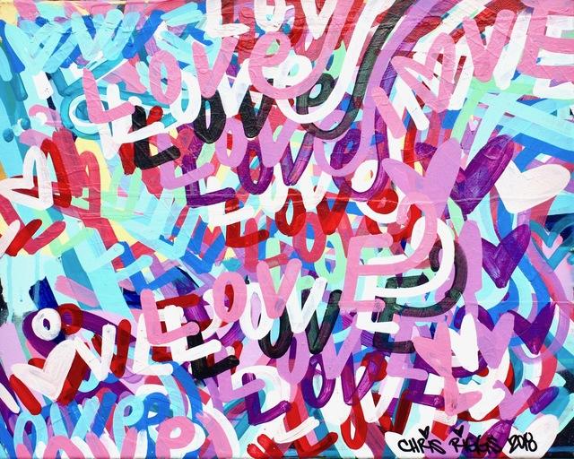 , 'Love Canvas 5,' 2018, Open Mind Art Space