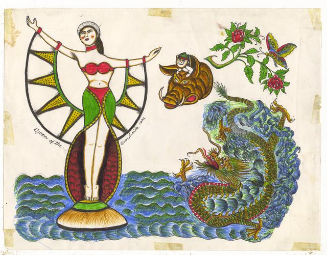 , 'Untitled (Dragon Queen of the Cendi),' ca. 1950, Ricco/Maresca Gallery