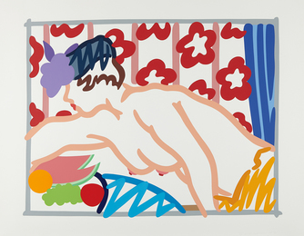 Tom Wesselmann, 'Judy Reaching Over Table,' 1997, Phillips: Evening and Day Editions (October 2016)