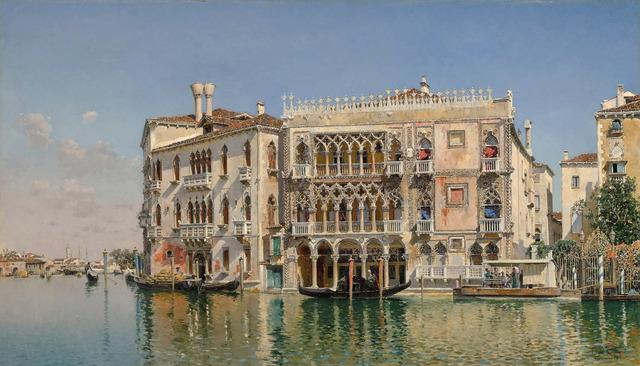, 'Ca' d'Oro, Venice,' 1885, MacConnal-Mason Gallery
