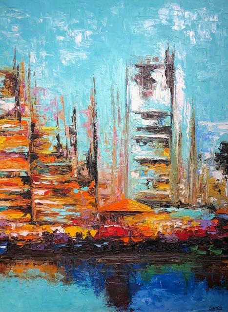 Elías José García, 'City by the Bay Abstract ', 2016, Il Concept Art Gallery