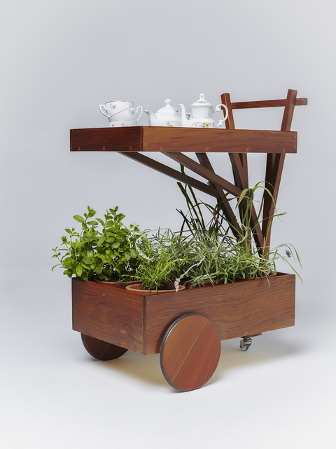 , 'Capim Santo tea trolley,' 2014, Paulo Alves