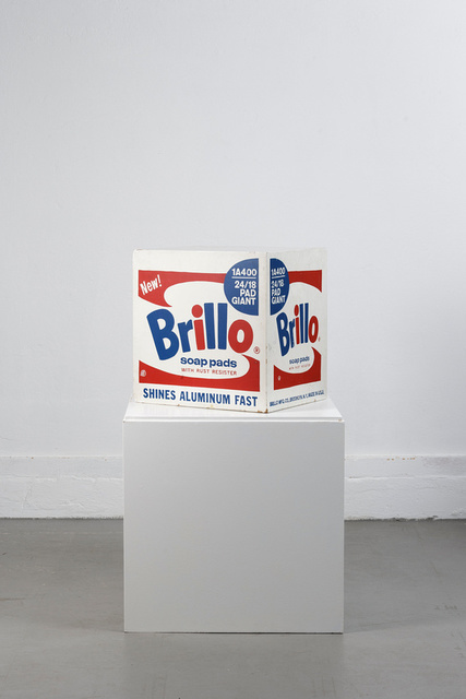 , 'Brillo Soap Pads Box 1968 Stockholm Type (one of 6 known to exist),' 1968, MultiplesInc Projects