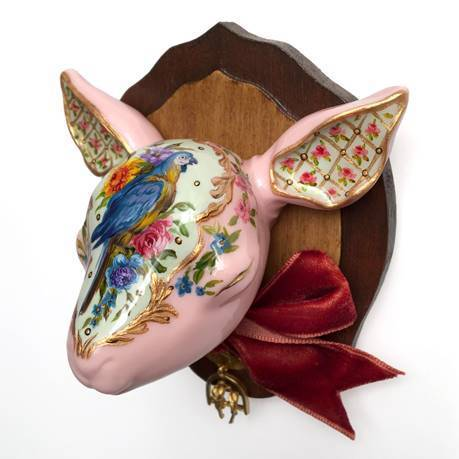 , 'Lamb with Parrot,' 2017, Haven Gallery
