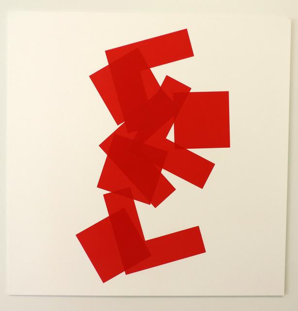 Vera Molnar, 'A base de carrés a', 1999-2009, Galerie La Ligne
