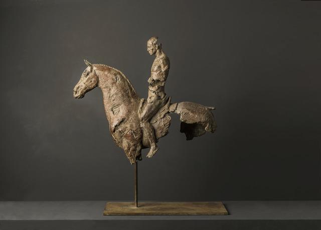 Christophe Charbonnel, 'Cavalier III', 2011, Sculpture, Bronze, Galerie Bayart