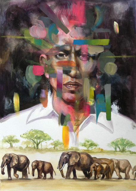 , 'Transit II,' 2017, Artemis Art