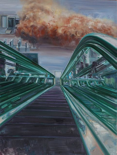 , 'EscalatorNo. 2,' 2015, Pékin Fine Arts