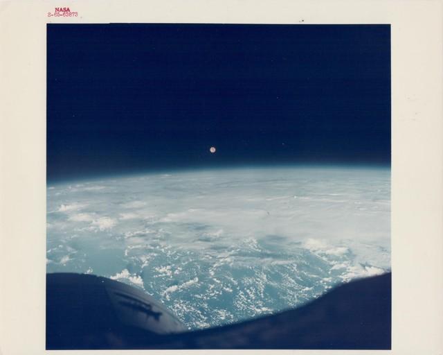 , 'Full Moon over the Earth, Gemini 7, December 1965,' 1965, Attollo Art