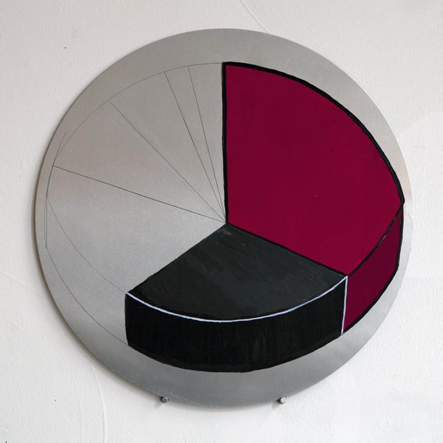 , 'Serie Radial. Horizontes circulares #7,' 2017, Galería Joan Prats