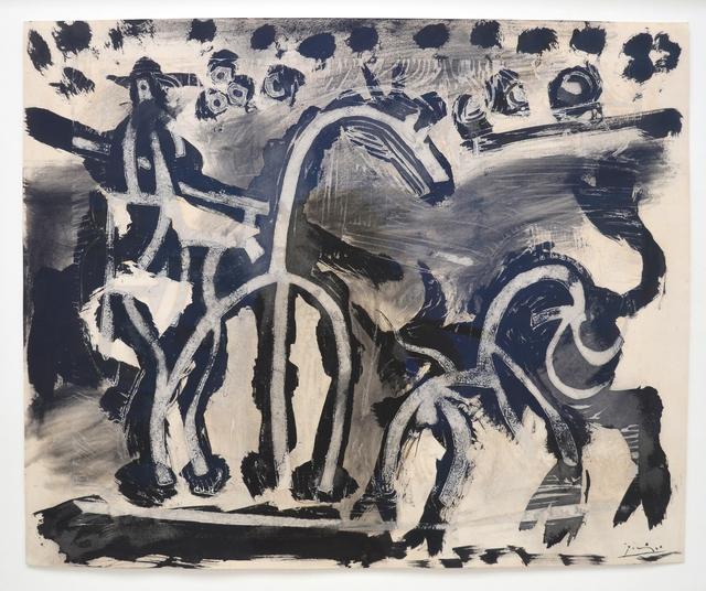 , 'Picador et taureau (Le Picador),' 1964, Beck & Eggeling
