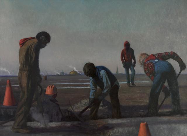 Bo Bartlett, 'Bo Bartlett Men Digging', 1984, Dowling Walsh