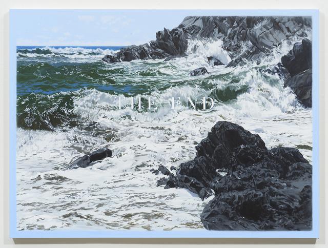 Luke Butler, 'THE END XXXVI', 2018, Painting, Acrylic on canvas, Jessica Silverman